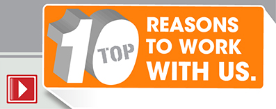 Top Ten reason to work with CTA